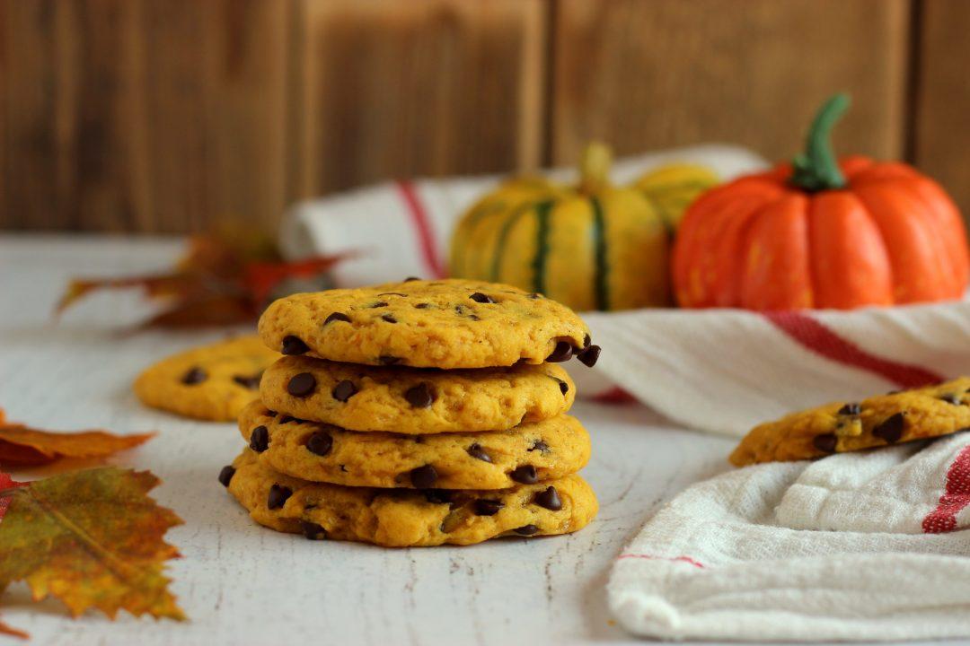 ricetta facile cookies alla zucca