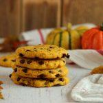 Cookies zucca e gocce di cioccolato