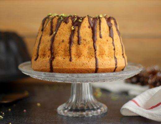 bundt cake cioccolato e pistacchio