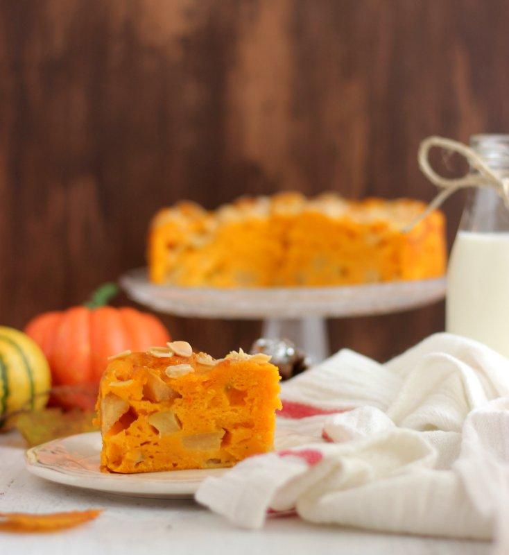 ricetta torta di mele e zucca