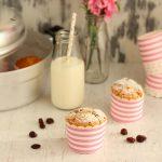 Muffin al farro con miele e uvetta in Pentola Fornetto