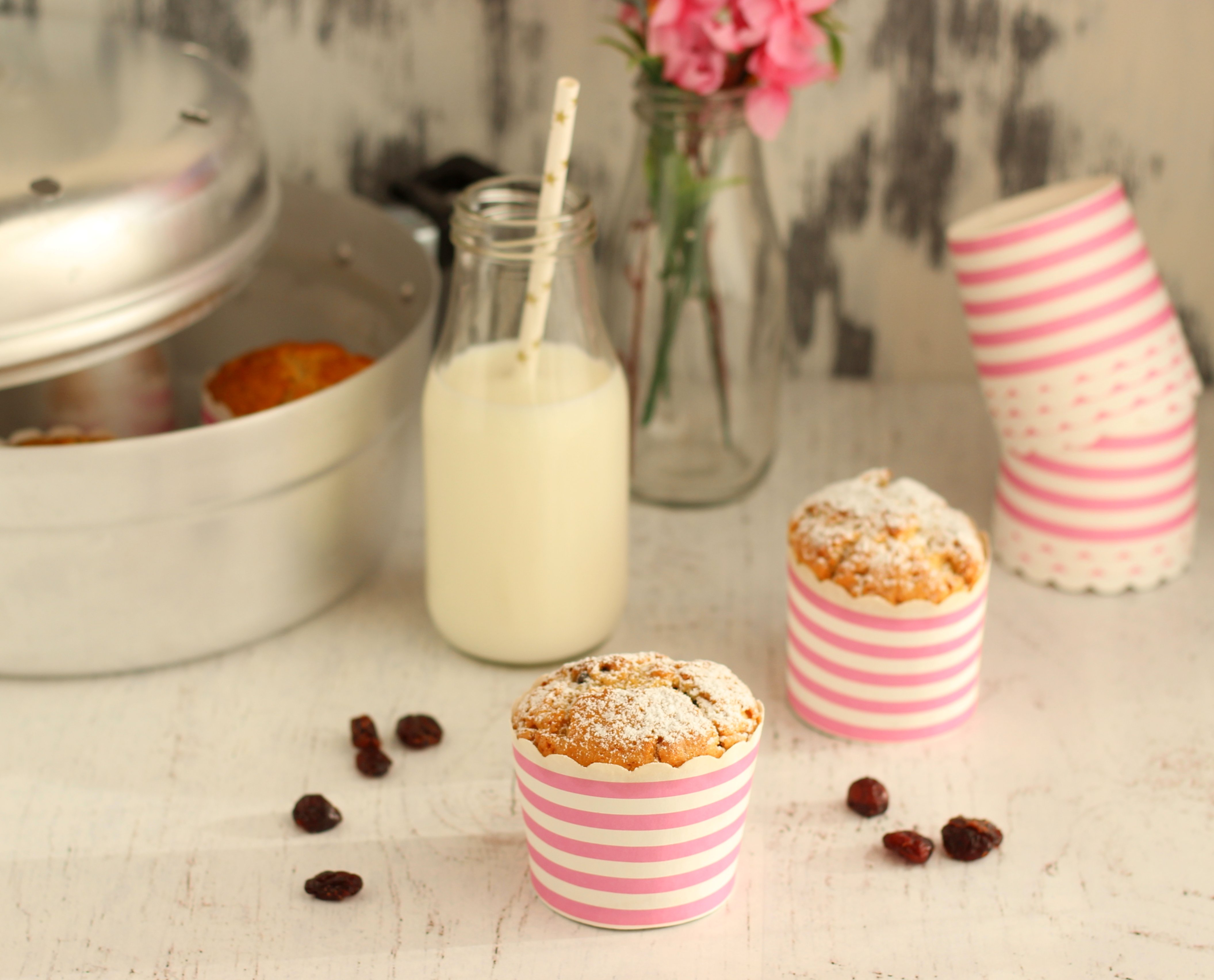 ricetta-muffin-al-miele-e-cranberries