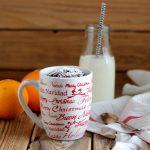 Mug cake al cacao e arancio in Pentola Fornetto