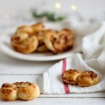 Ventagli di sfoglia con crema al mascarpone, Gorgonzola e noci