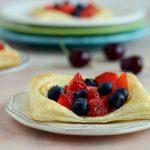 Sfogliatine allo yogurt e frutti rossi