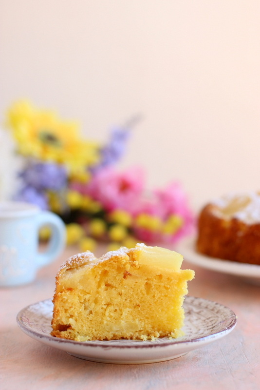 ricetta-torta-con-ananas